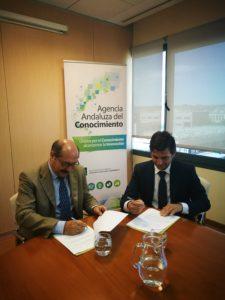 Acto de Firma del Convenio ente AAC y Clúster CSA
