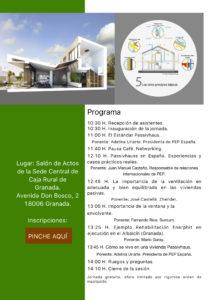 Programa Jornada Passivhaus