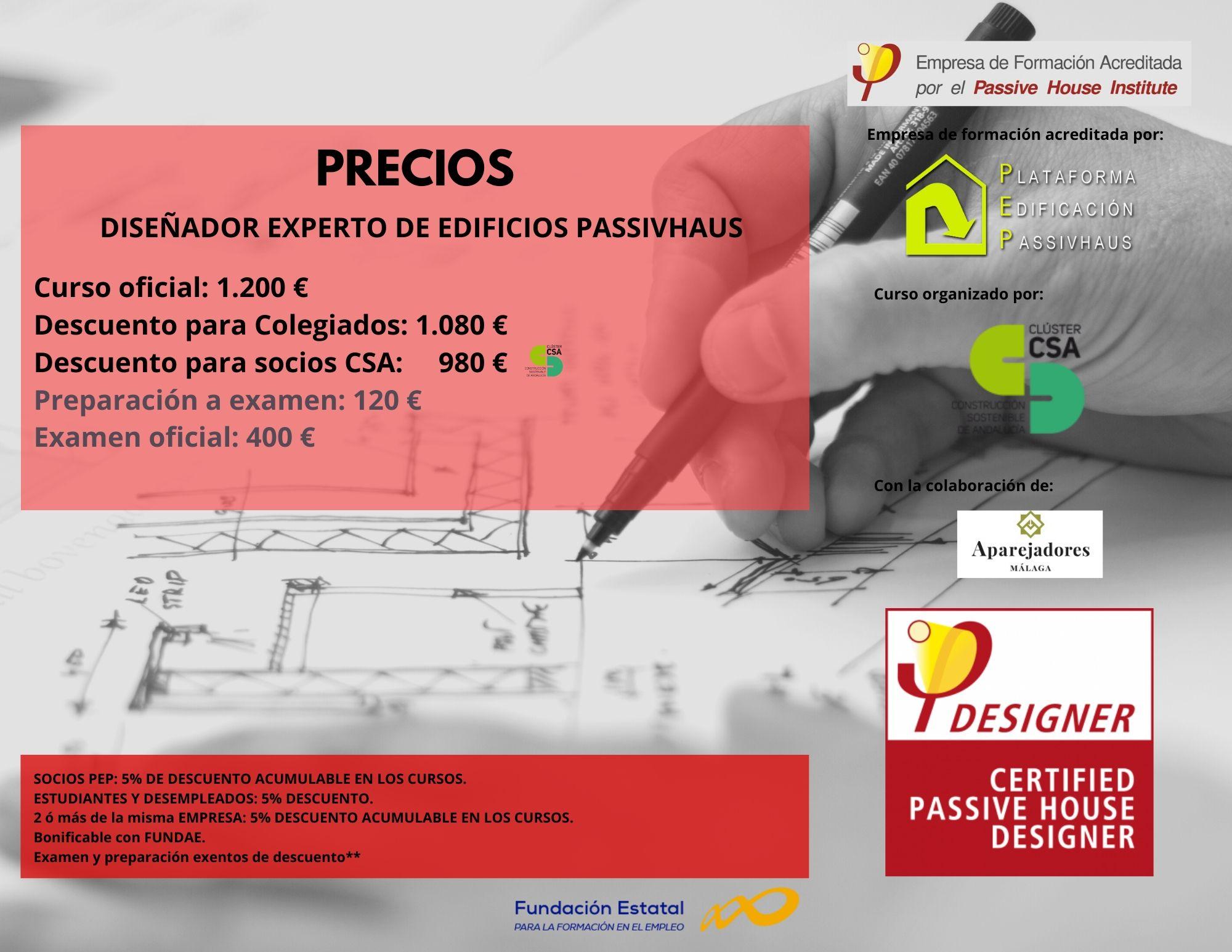 Curso Passivhaus Designer C&A Precios