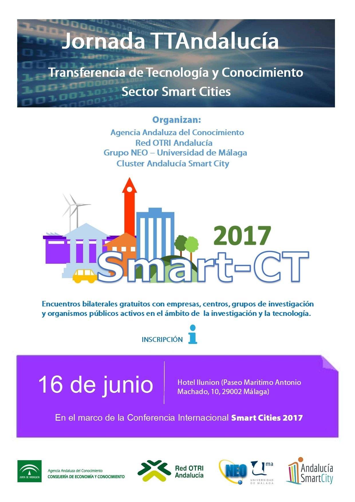 Cartel jornadas TT Smart City